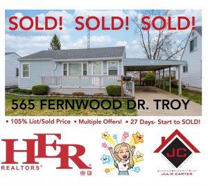 Fernwood Sold